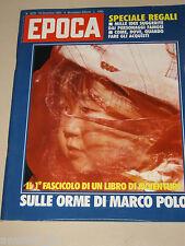 EPOCA=1982/1679=YILMAR GUNEY=BARBARA BOUCHET=GIANNI COLLA LUIGI VERONESI=