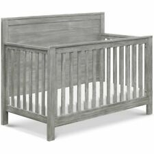 DaVinci Fairway Solid Wood 4-in-1 Convertible Crib in Cottage Gray