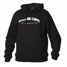 FELPA NERA SWEATSHIRT BLACK AUDI TT GERMAN CAR