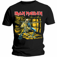Iron Maiden Piece Of Mind Album T-shirt Official Rock Metal Unisex