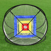 "New Portable 37"" Golf Training Practice Net Chipping Hitting Aid In/Outdoor Bag"