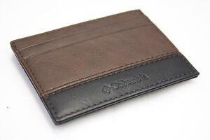 Columbia Men's Brown Magnetic Bifoldable Wallet (S48)