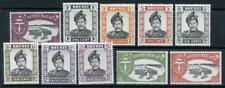 Brunei Mixed Mint Lot. $5 Wmk Script CA MM & MNH Values Wmk St Ed Crown Block CA