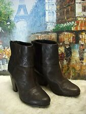 Rag & Bone Classic Newbury Leather Ankel Boots - Size 36 - $495