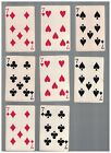 8 - C1937 Chesapeake And Ohio Lines Swap Playing Cards -  SEVENS With Chessie