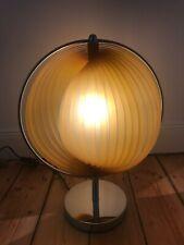 Mid Century Moonlamp Lamellen Tischlampe Space Age im 70er Jahre Stil