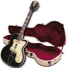 Demo - Kay Reissue K161VBK Thin Twin Electric Guitar-w/Case-Black