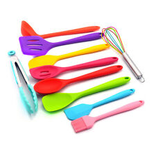 10Pcs Kitchen Cooking Tools Silicone Cooking Utensils Set Non-stick Cookware Set