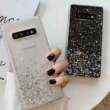 Samsung Galaxy Note 10 Plus/S20/S10 Bling Glitter Clear Cute Phone Case Cover