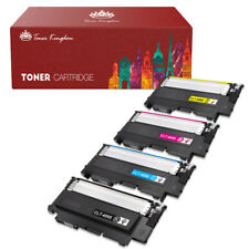 4 CLT-409S CMYK COLOR Toner Set For Samsung CLP-310 CLP-315W CLX-3175FW CLX-317