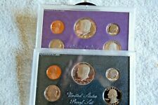 1983 & 1984 Proof Set United States US Mint Original Government  Box / CAMEO