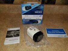"Samsung Techwin SCB-5000 1280H Analog Box Camera, 1/3""1.3MP CMOS, 1000TV"