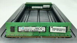 LOT 8 HP 798033-001 4GB 1Rx8 DDR4 PC4-2133P-U 17000MB/s NON ECC DIMM MEMORY RAM