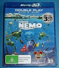 FINDING NEMO 3D BLU-RAY + BLU-RAY NEW SEALED Disney
