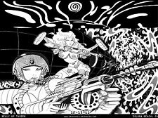 Psychedelic Dinosaur Jr. concert poster, ltd. edition