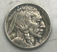 1916 Buffalo Nickel - Major Error! - Reverse Split Planchet