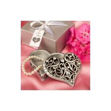 Fashioncraft Exquisite Heart Shaped Curio Box - NEW - Gift Wrapped