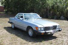 1984 MERCEDES BENZ W107 380SL CABRIO DIAMANDBLAU 1 HAND 29000 ORIGINAL GELAUFEN