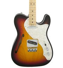 Fender 0114312762 American Elite Telecaster Thinline Mystic Ice Blue