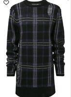 Women's Killstar Size Large Killmore Tartan Knit Sweater NWT