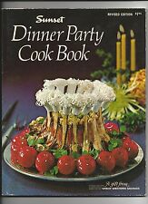 SUNSET DINNER PARTY COOKBOOK SOFTCOVER RECIPES GREAT WESTERN SAVINGS
