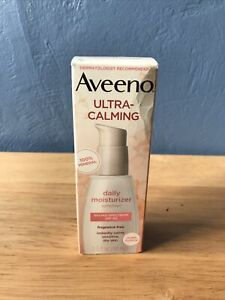 Aveeno Ultra-Calming Fragrance-Free Daily Facial Moisturizer 2.3 oz