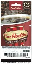 Tim Hortons 2016 USA GENERIC Hanger Red Coffee Cup Gift Card FD51605