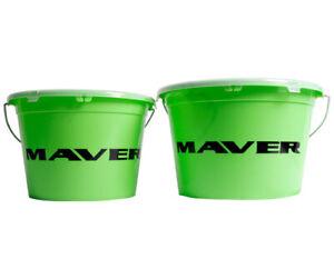 Maver Groundbait Bucket and Lid 18Ltr NEW Coarse Fishing - J961