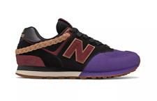 "New Balance 574 Black Purple BHM ""My Story Matters"" Men's Shoes Size 11 NEW"
