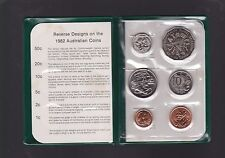 1982  Royal Australian Mint Coin Set UNC  E-893