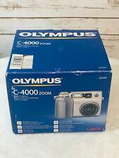 Olympus C-4000 Camedia Zoom Digital Still Camera Box Instructions USB Cable