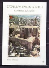 CATALUÑA EN SELLOS HOJA BLOQUE Nº 89 EXPRESIÓN RELIGIOSA/BEATOS DE GERONA