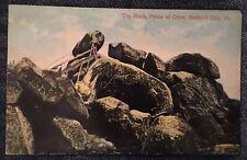 Bedford City Va Top Rocks On Peaks Of Otter Postcard