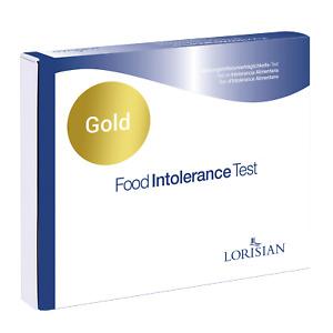 PREMIUM FOOD INTOLERANCE TEST KIT - 208 FOOD & DRINK INGREDIENTS - LORISIAN GOLD