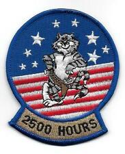 TOMCAT F-14  2500 HOURS PATCH