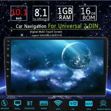 🔥10.1'' For Android 8.1 Car Stereo MP5 Player FM GPS WiFi Mirror Link Head Unit