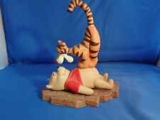 """Disney Pooh & Friends Collectible Figurine """"Friends Put A Bounce In Your Heart"""""""