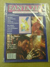 FANTAZIA #4 VF PEGASUS US MAGAZINE SIMPSONS FLASH JUDGE DREDD