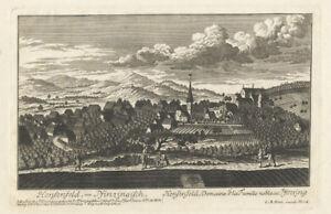 Henfenfeld : Kupferstich bei Christoph Melchior Roth, um 1760