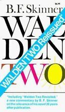 Walden Two (Trade Book)[Mass Market Paperback] by Skinner, Burrhus Frederic