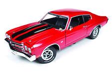 1970 Chevelle Red Tom Cruise/Jack Reacher Movie 1:18 Auto World 109