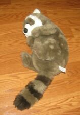 DAKIN APPLAUSE LOU RANKIN FRIENDS SAMMY THE RACCOON Plush Stuffed Animal 13""