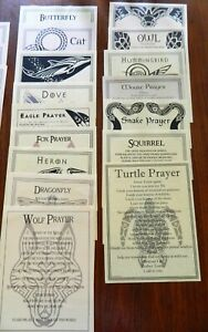 Wicca Pagan Prayer Posters 58 Choices 8.5x11 Owl Cat Raven Elements Nature More