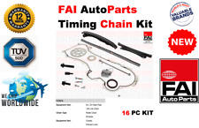 FOR FIAT GRANDE PUNTO 1.3D MULTIJET HB 2005-ON NEW 16 PIECE TIMING CHAIN KIT