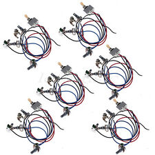 6 Pcs Prewired Wiring Harness Kit 2V/2T 3way switch jack for Guitar Parts
