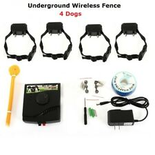 Ultimate 4 Dog Barrier Fence - Waterproof - 1 system connected to 4 dogs