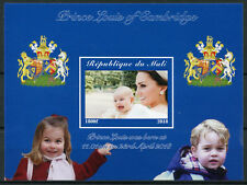 More details for mali 2018 mnh prince louis royal baby william & kate 1v impf m/s royalty stamps