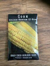 Baker Creek Heirloom Seeds Golden Bantam 12-Row Corn