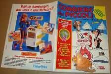 CORRIERE DEI PICCOLI 1988 NR.50-51 POSTER/INSERTO/REAL GHOSTBUSTERS/SMOOSHEES