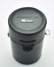 Genuine Black Olympus OM Zuiko Hard Lens Case 135mm (#T595)